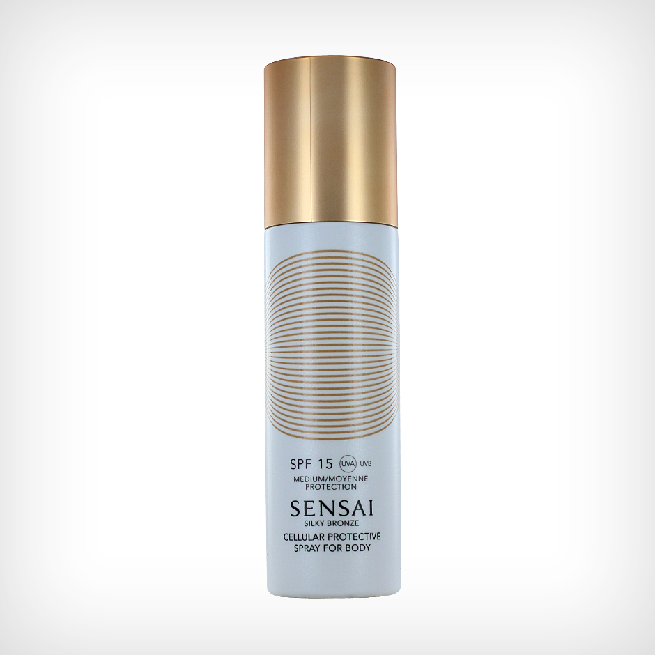 Sensai - Silky Bronze Cellular Protective Spray For Body SPF15 150ml
