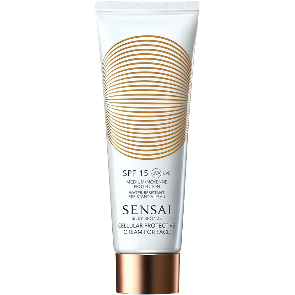 Sensai - Silky Bronze Cellular Protective Cream For Face SPF15 50ml