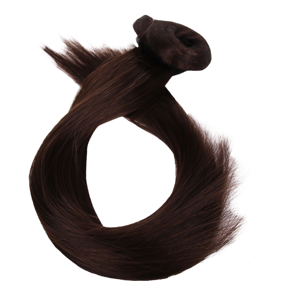 Rapunzel of Sweden - Clip-On Ponytail #2 Chocolate Brown 40cm