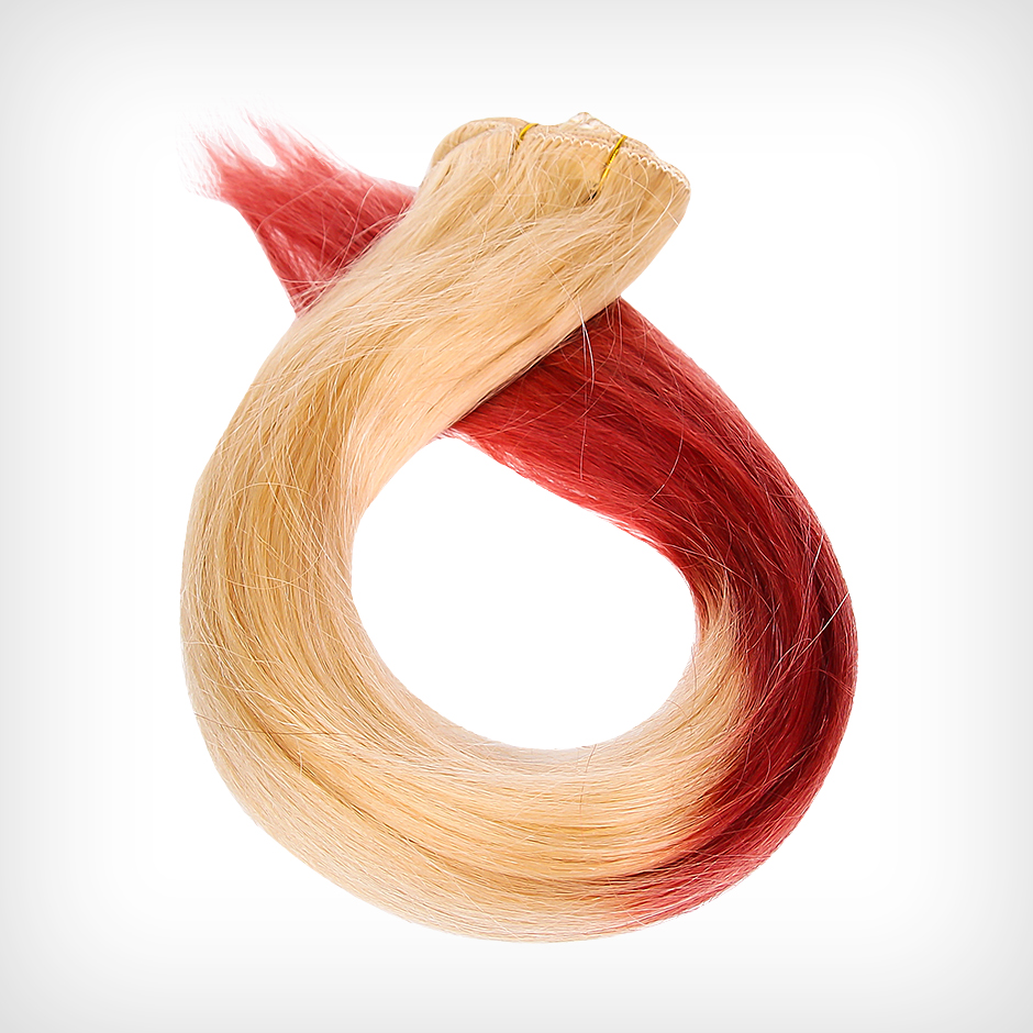 Rapunzel of Sweden - Dip Dye Clip-In Clodberry 50cm
