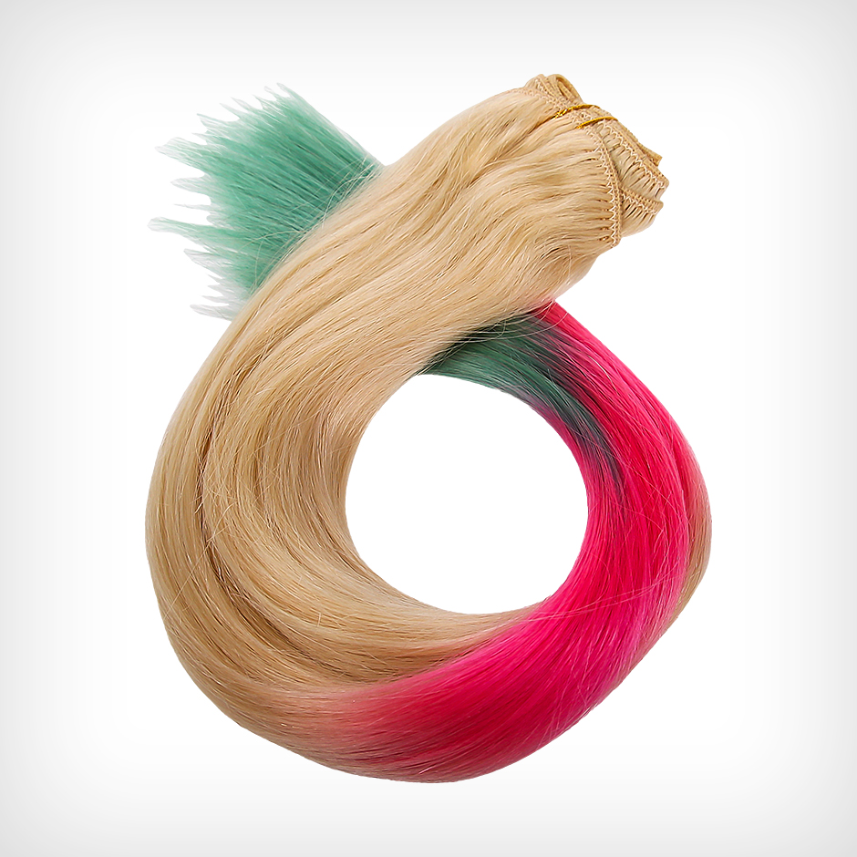 Rapunzel of Sweden - Dip Dye Clip-In Unicorn 50cm