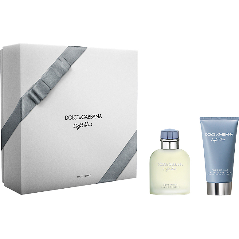 Dolce & Gabbana - Light Blue Pour Homme EdT 75ml, After Shave Balm 75ml