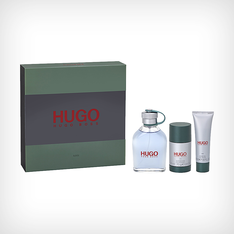 Hugo Boss - Hugo EdT 125ml, Deostick 75ml, Shower Gel 50ml