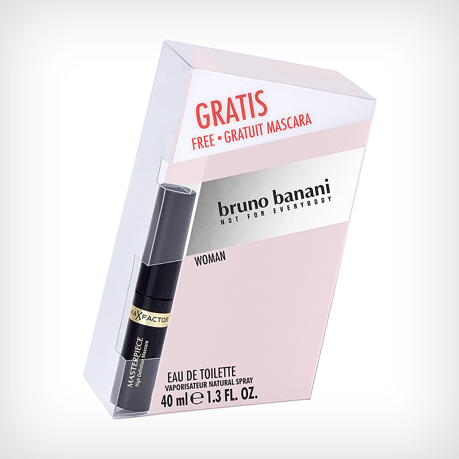 Bruno Banani - Woman EdT 40ml, Mascara