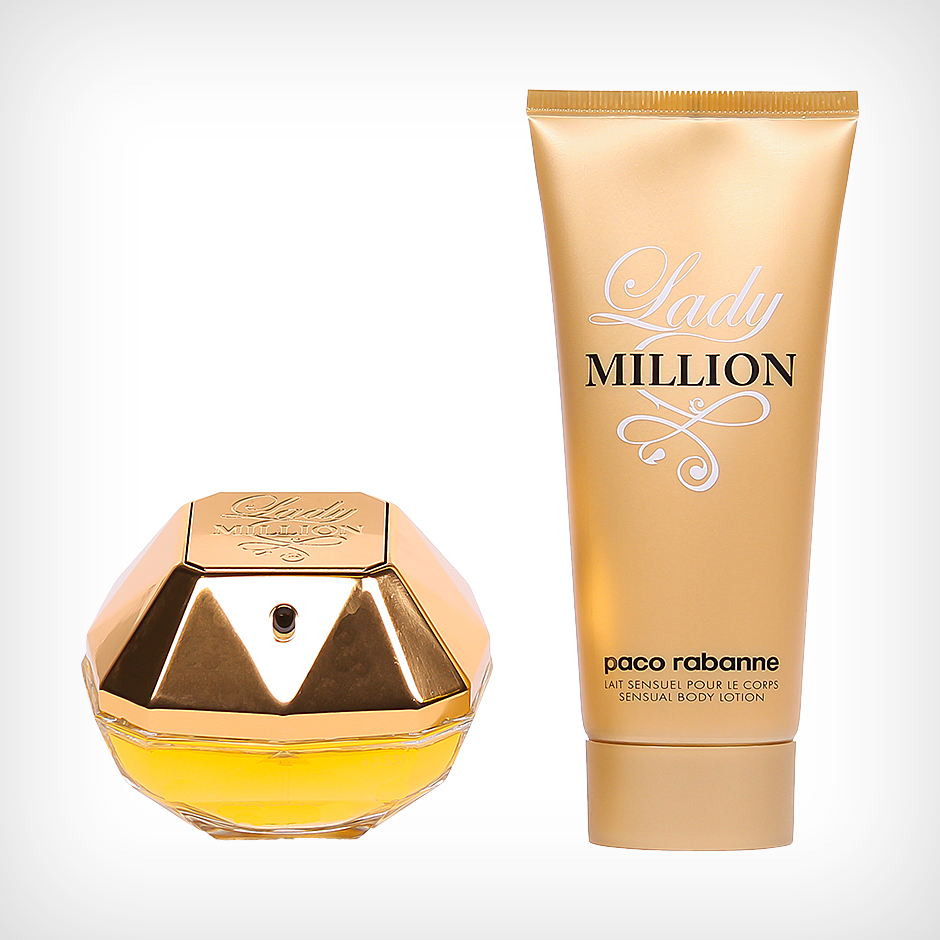 Paco Rabanne - Lady Million EdP 50ml, Body Lotion 100ml