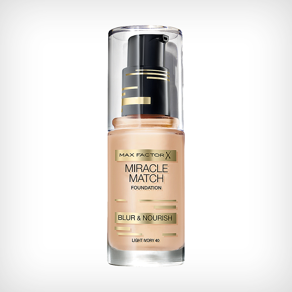 Max Factor - Miracle Match Foundation 40 Light Ivory 30ml
