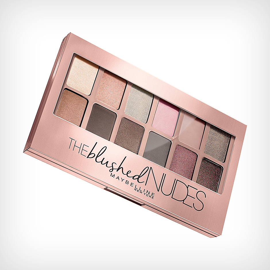 Maybelline - Eyeshadow Palette The Nudes 1 Blushed Nudes 9,6g