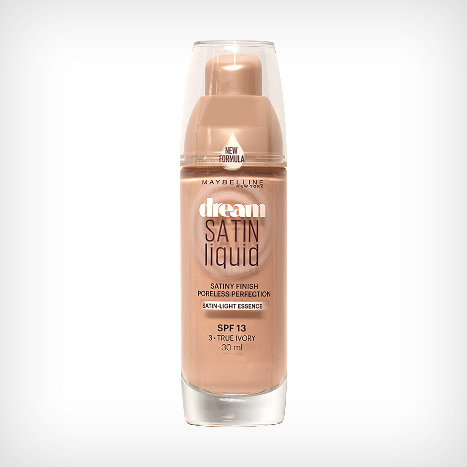 Maybelline - Dream Satin Liquid Foundation 3 True Ivory 30ml