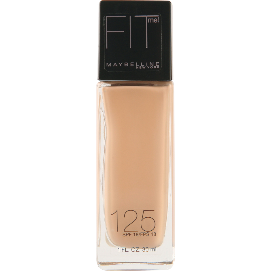 Maybelline - Fit Me Foundation 125 Nude Beige 30ml