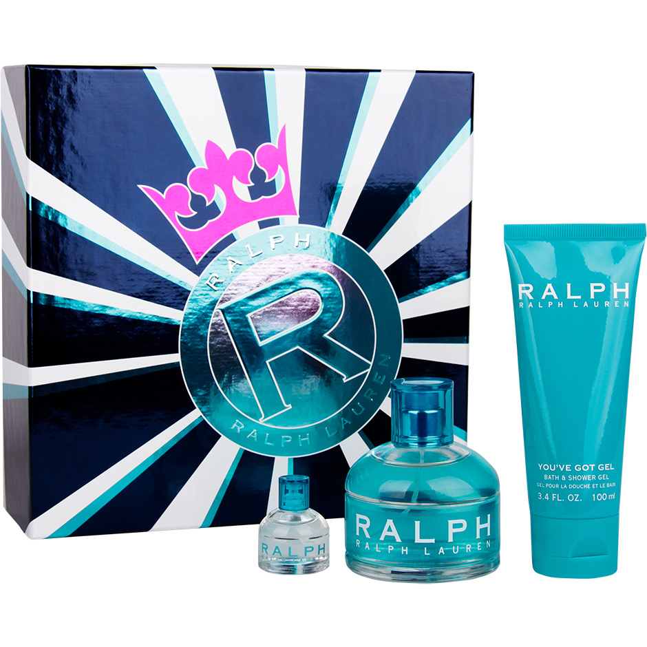 Ralph Lauren - Ralph EdT 100ml, Shower Gel 100ml, Edt 7ml