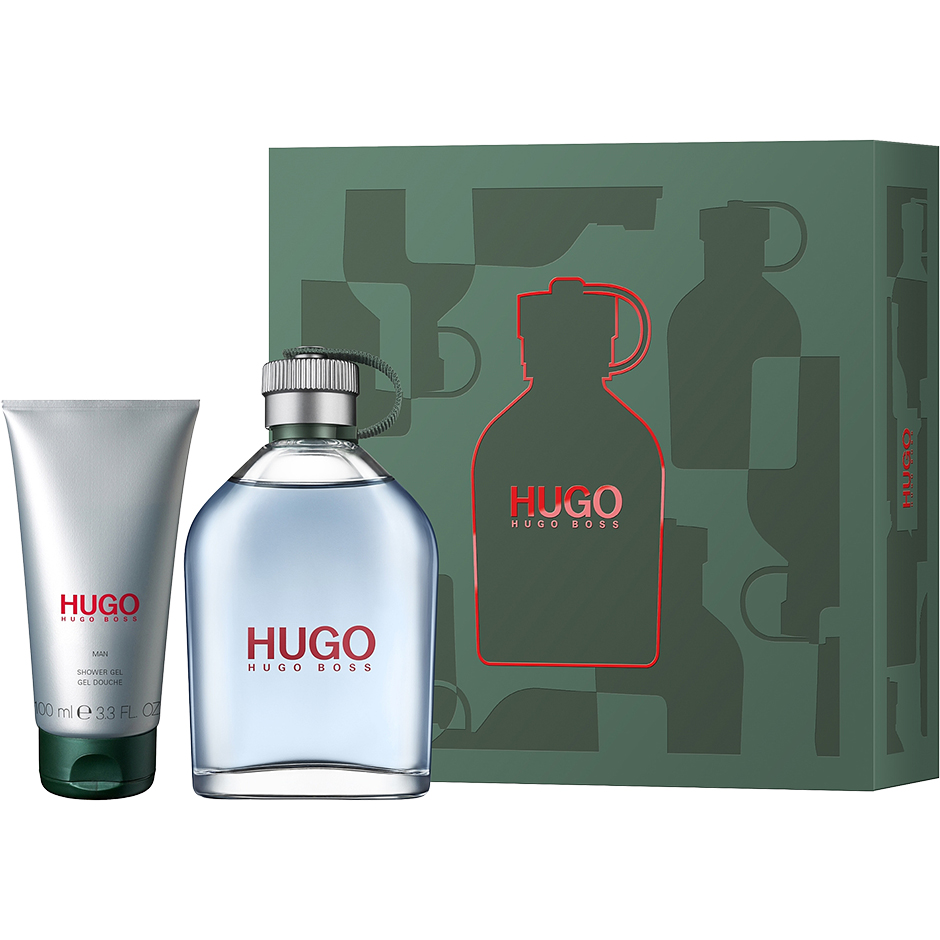 Hugo Boss - Hugo Man EdT 200ml, Shower Gel 100ml