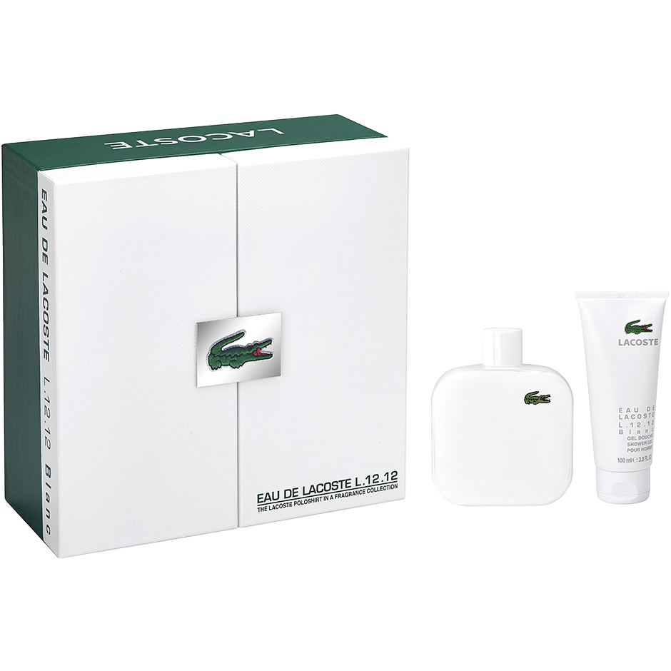 Lacoste - L.12.12 Blanc EdT 175ml, Shower Gel 100ml