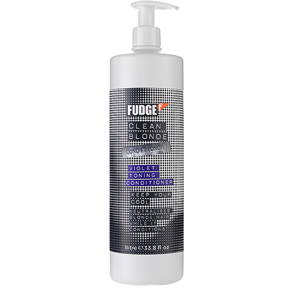 Fudge - Clean Blonde Violet Toning Conditioner 1000ml