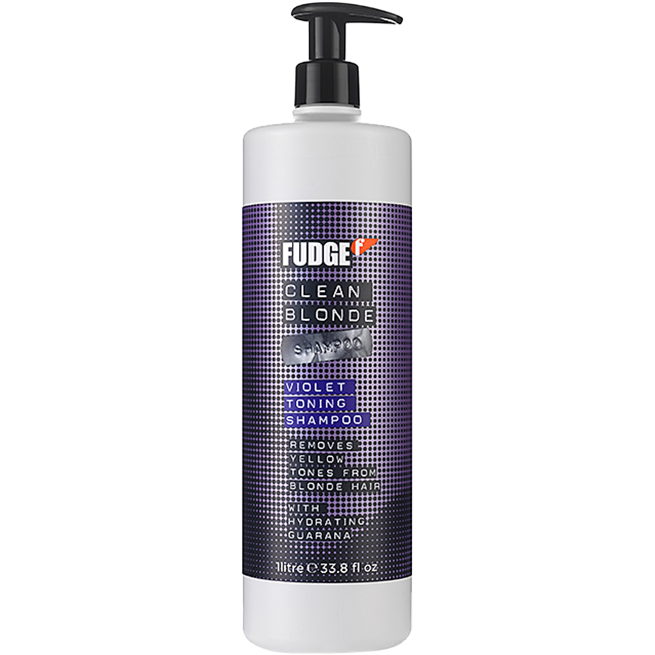 Fudge - Clean Blonde Violet Toning Shampoo 1000ml