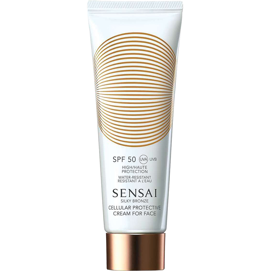 Sensai - Silky Bronze Cellular Protective Cream for Face SPF50