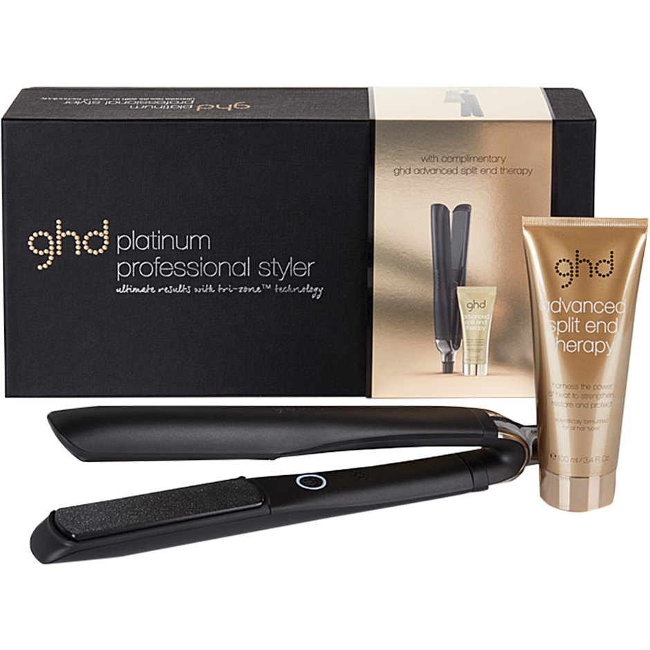 GHD - Platinum Styler Gift Set Platinum Styler, Advanced Split End Therapy 100ml