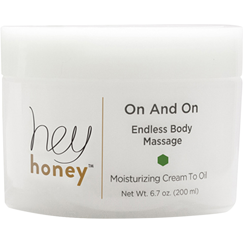 Hey Honey - On And On Endless Body Massage Cream To Oil 200ml