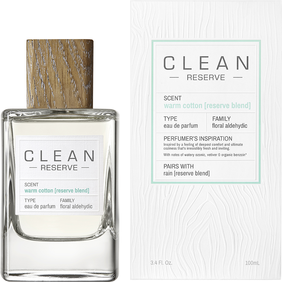 Clean - Warm Cotton Reserve Blend EdP EdP 100ml