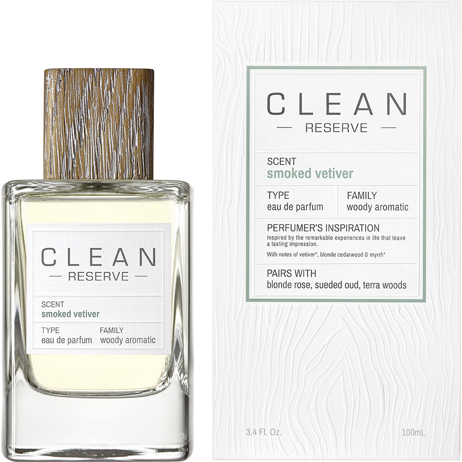 Clean - Smoked Vetiver EdP EdP 100ml