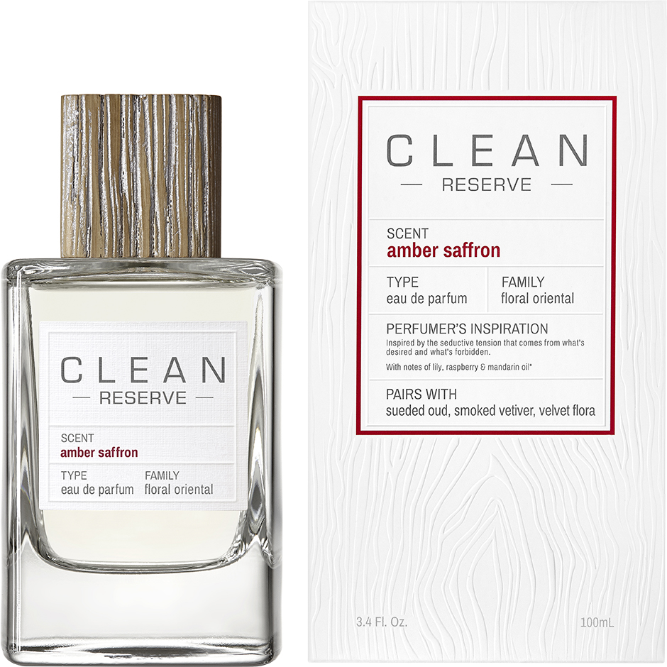 Clean - Amber Saffron EdP EdP 100ml