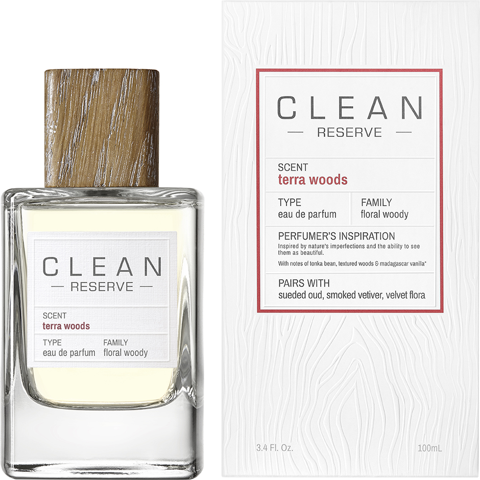 Clean - Terra Woods EdP EdP 100ml