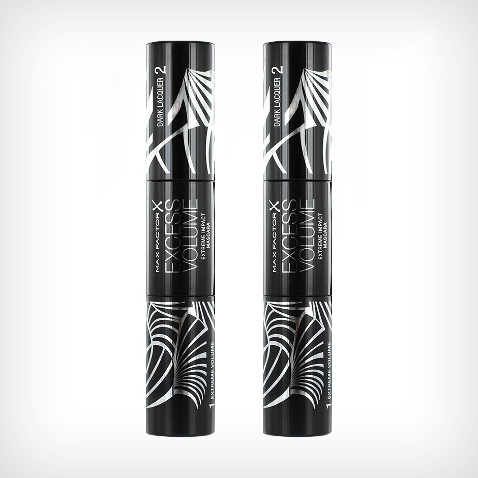 Max Factor - Excess Volume Extreme Impact Mascara Duo Black x 2