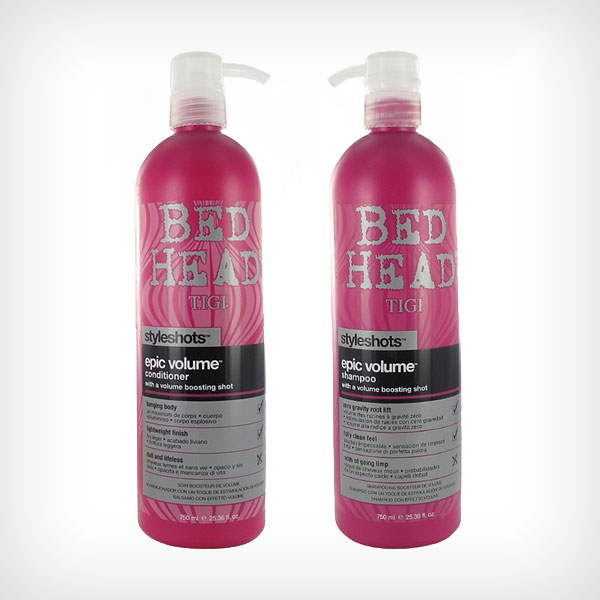 TIGI Bed Head - Styleshots Duo Shampoo 750ml, Conditioner 750ml