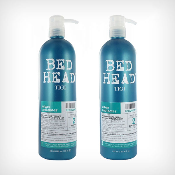TIGI Bed Head - Urban Recovery 2 Duo Shampoo 750ml, Conditioner 750ml