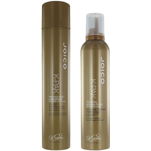 Joico - K-Pak Duo Hairspray 350ml, Thermal Design Foam 300ml