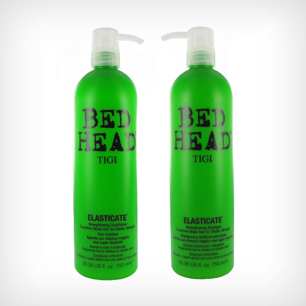 TIGI Bed Head - Elisticate Duo Shampoo 750ml, Conditioner 750ml