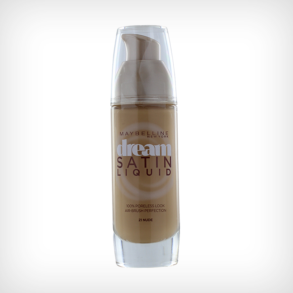 Maybelline - Dream Satin Liquid Foundation 21 Nude