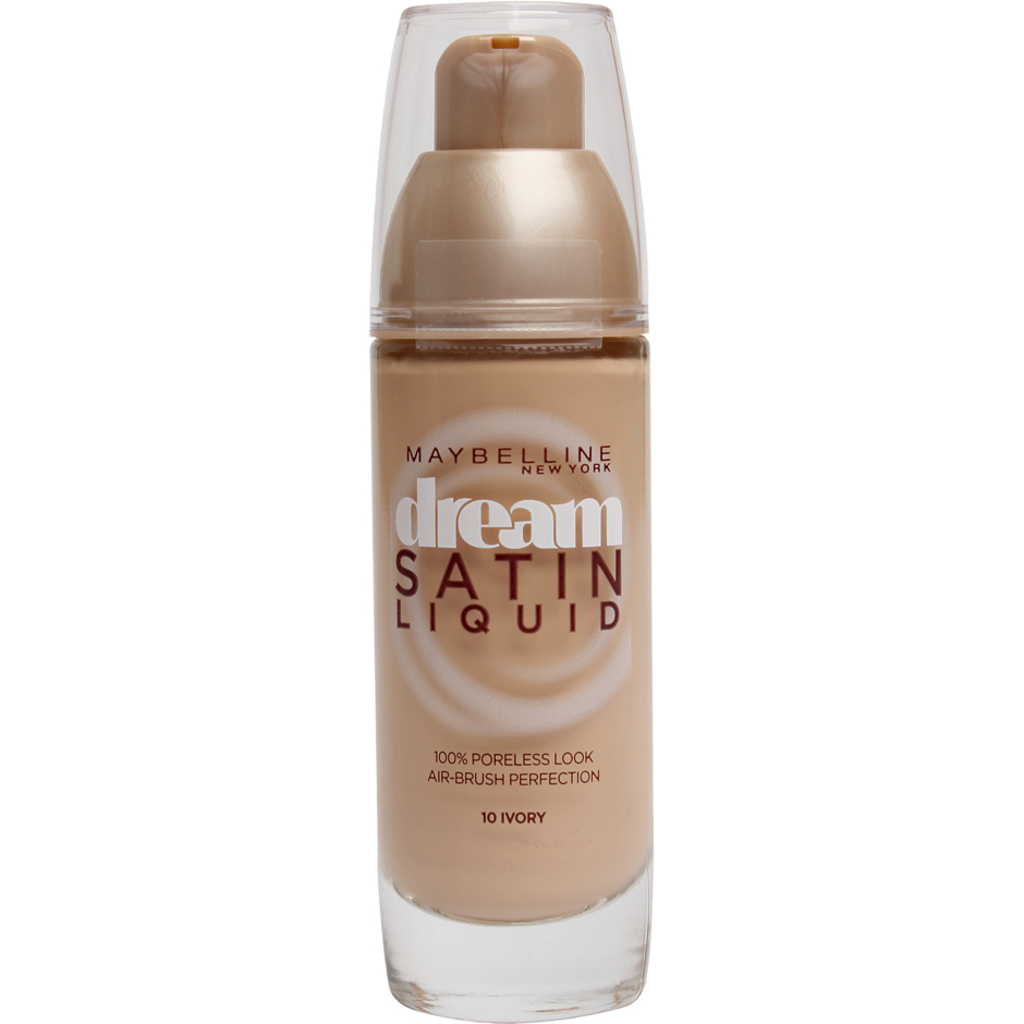 Maybelline - Dream Satin Liquid Foundation 10 Ivory